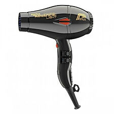 Parlux Advance Light Ionic & Ceramic Dryer - Black With Bonus Hair Curler