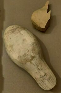 Hand Rough Blank Carved Wooden Duck Unfinished - Full size - DIY Ready to carve