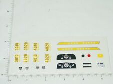 John Deere 1:16 Custom Complete Tractor Replacement Stickers     JD-895