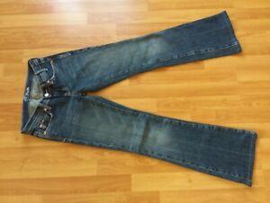 Jeans Hose Miss Me blau Grösse 25