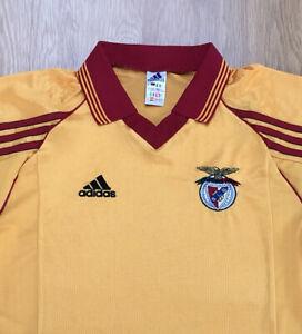 Men's Original Benfica 1998 / 1999 Away Football Shirt Size Small