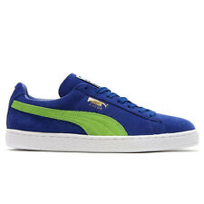 Puma Suede Classic + Mens 356568-58 Blue Jasmine Green Athletic Shoes Size 9