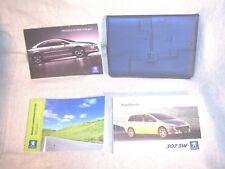 Peugeot 307 SW Facelift 05>08 Owners Handbooks and Folder