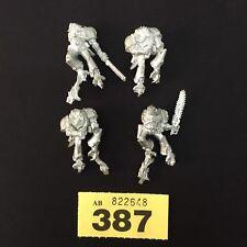 Warhammer 40,000 Caos Marines Espaciales Asalto Raptors Cuerpos X 4 Metal