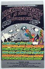 The STOOGES Halloween 1969 Detroit CONCERT HANDBILL Pink Floyd ALICE COOPER Iggy