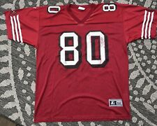 Vintage 90s Starter 49ers Forty Niners Jerry Rice Jersey Adult Size XL XXL 52