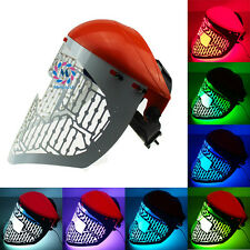 7 Color LED light therapy beauty mask red blue green light photon PDT mask
