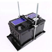 Adjustable Metal Car Storage Battery Holder Stabilizer Hold Down Clamp