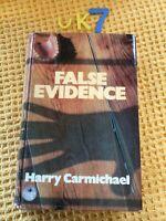 1976 FALSE EVIDENCE, Harry Carmichael Very Scarce First Edition