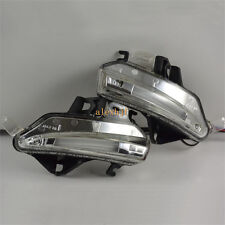 LED Rear-view Mirror Lights for Lexus ES GS 2013+, Turn Signal +DRL+ Floor Lamps
