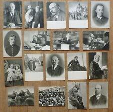 1960 RUSSIA SET 18 POSTCARD LENIN HISTORY LEADER COMMUNISM SOCIALISM RETRO PHOTO