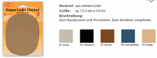 Nappa Leder Flecken zum nähen von Kleiber 850 Fb schwarz 04