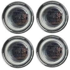 4 x MAYBELLINE 4g COLOUR TATTOO EYE SHADOW 100 DRAMATIC BLACK Brand New