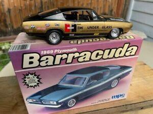 Barracuda Cuda hemi under glass Tribute built model body