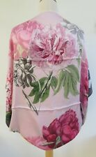 100% Silk Ted Baker Palace Gardens Silk Small Cape Scarf RRP£99 - AMAZING!