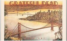 GRATEFUL DEAD CARTE POSTALE POSTCARD WORLD X222