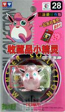 Auldey Tomy Pokemon #28 WIGGLYTUFF Mini Figure Pocket Monsters 1998 Vintage RARE