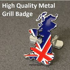 England Flag Grill Badge Emblem British Union Jack United Kingdom UK GB Car UKG