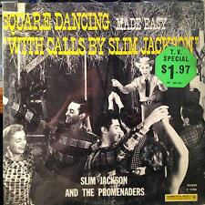 Slim Jackson & Promenaders - Square Dancing Made Easy LP New Sealed P 11726 1st