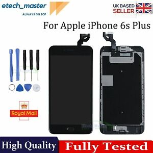 For iPhone 6s Plus LCD Screen Replacement Black Display Touch Digitizer + Camera