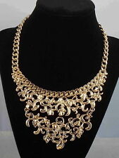 Openwork Collar Necklace $58 Jessica Simpson Goldtone Straight Laced