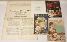 KOCHBUCH - Julius Meinl - eine Sammlung alter Rezepte - Raritäten