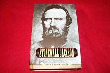 Confederate Civil War History-Stonewall Jackson Biography,James Robertson