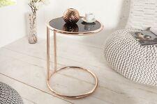 Designer Couchtisch in Kupfer Glas Glastisch Tisch Beistelltisch REPRO Art Deko