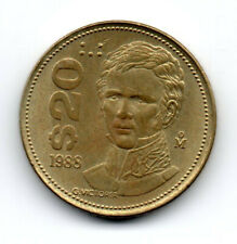EE. UU. Mexicanos 1988, Guadalupe Victoria (first Mexican President), 20 pesos