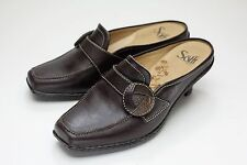 Sofft 7 Brown Mules