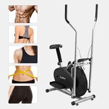 Finether 2 IN 1 Crosstrainer Ellipsentrainer Fitness Heimtrainer Cardiotrainer