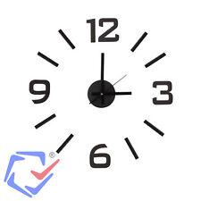 Velleman reloj de pared adhesivo formato 12 horas Silencioso 500mm Pegatinas EVA