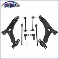 New Suspension 8Pcs Lower Control Arm Ball Joint Kit Fits 2000-2004 Ford Focus
