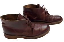 CLARKS Originals Wine Leather Desert Boots     Size: 7.5F