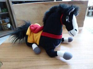 Disney Bean Beanie Bag Plush - KHAN Horse Mulan NICE! Clean