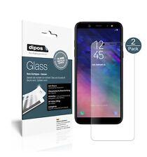 2x Samsung Galaxy A6 Plus Protector de Pantalla Vidrio Flexible Mate Proteccion
