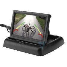 Monitor 4.3 ripiegabile per kit retromarcia auto camper schermo LCD TFT PVSFM4