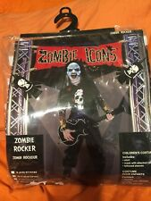 Zombie Rocker boy's costume by Paper magic group-size medium
