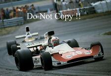 Ian scheckter williams FW03 dutch grand prix 1975 photo