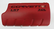 06-13 LS7 Corvette Z06 Fuel Rail Engine Coil Cover RH New GM RED