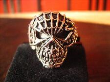 schwerer et Nox Unikat Ring Dämon Spinne Spinnendämon 925er Silber RG 63 Gothic