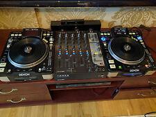 Denon DJ CD/MP3 players DN-S3700 pair