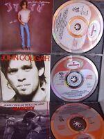 John Mellencamp- John Cougar/ Scarecrow/ Uh-Huh- 3 CDs- Red Swirl West Germany