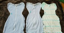 3 Love To Dream Swaddles Up Original 1.0 TOG Blue Medium - Barely used