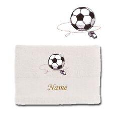 Serviettes, draps et gants de salle de bain blanc 100x150 cm