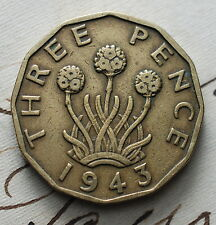 1943  United Kingdom     Three   pence