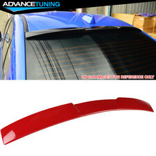 Fits 15-18 Impreza WRX STI V Style Roof Spoiler OEM Painted Color #M7Y Pure Red
