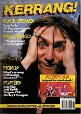 Chris Robinson of The Black Crowes  Kerrang Cover 1991    Saigon Kick    Extreme