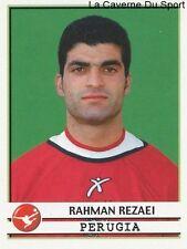 RAHMAN REZAEI IRAN AC.PERUGIA RARE UPDATE STICKER CALCIATORI 2002 PANINI