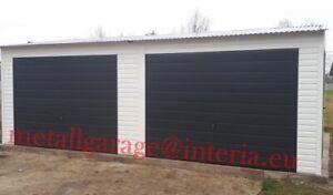 7x4,5 Blechgarage Container Metallgarage LAGERRAUM GERÄTESCHUPPEN garage